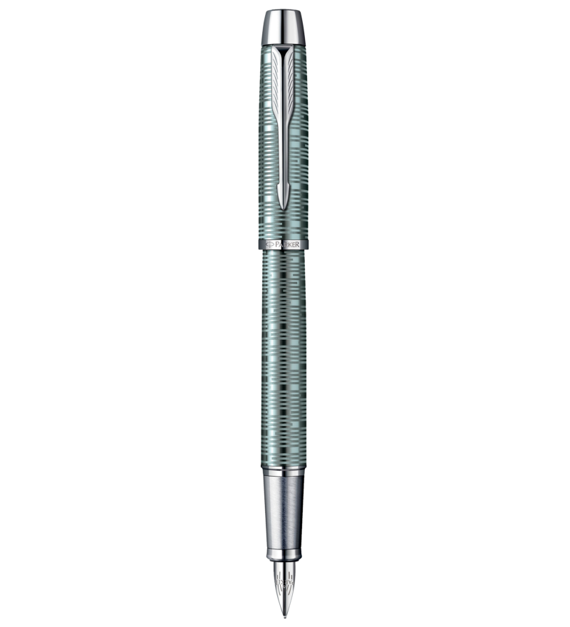 Parker IM Premium Emerald Pearl Fountain Pen