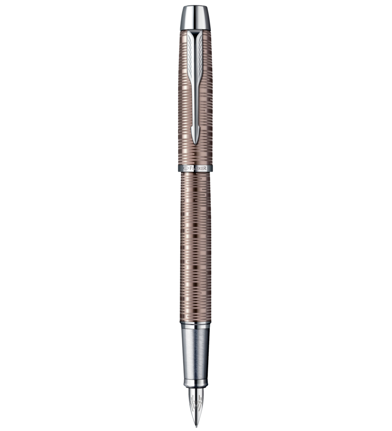 Parker IM Premium Brown Shadow Fountain Pen