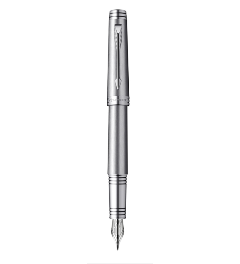 Premier Monochrome Titanium Fountain Pen